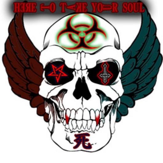 530x530 Evil Skull Left 4 Dead 2 Sprays