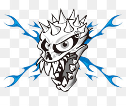 260x220 Free Download Skull Evil Clip Art