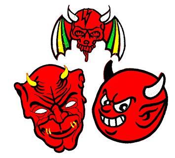355x321 Pp Patch Set 3 Red Devil Demon Evil Satan, Devil