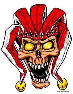 236x300 Skull Jester By Grfxjams On @ Jesters