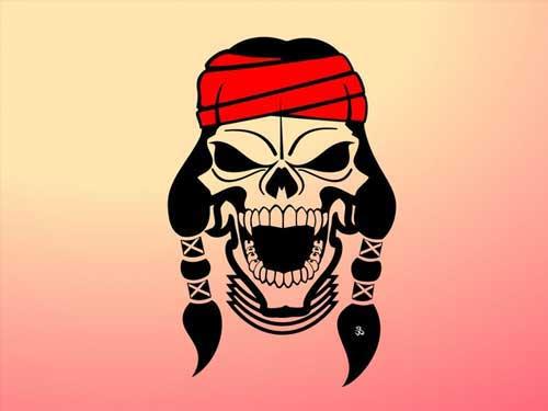 500x375 Skulls Clip Art 53 Free Vectors For Punk Designs