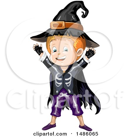 450x470 Clipart Of An Evil Witch Mixing A Spell In A Cauldron