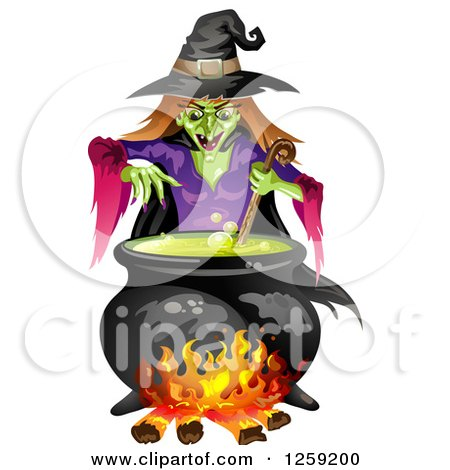 450x470 Royalty Free (Rf) Clipart Of Witches, Illustrations, Vector