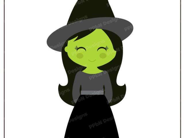 640x480 Witch Hat Clipart Cute