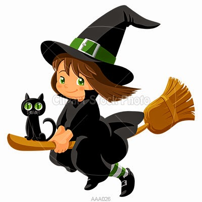 400x400 Witches Saddle Clipart