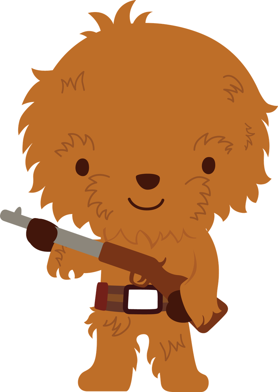 900x1269 Galaxy Wars (Chewbacca) Animados Chewbacca