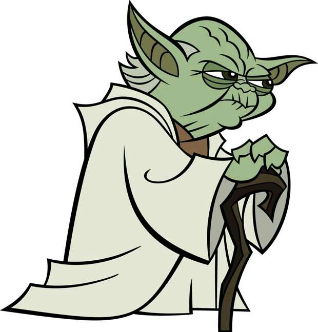 620x648 Star Wars Clip Art Free Yoda The Clone Wars Star Wars Yoda Art Coo