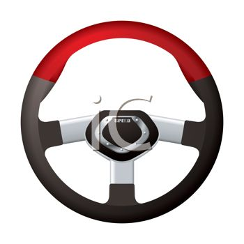 350x350 Steering Wheel For An Exotic Sports Car
