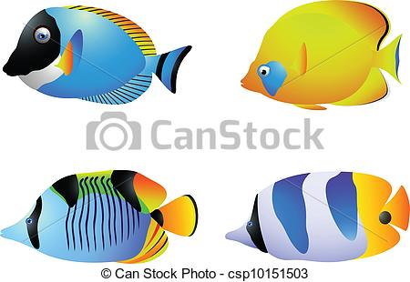 450x310 Clip Art Of Tropical Fish Clipart Panda Free Images