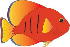 236x159 Ocean With Fish Clipart Tropical Fish