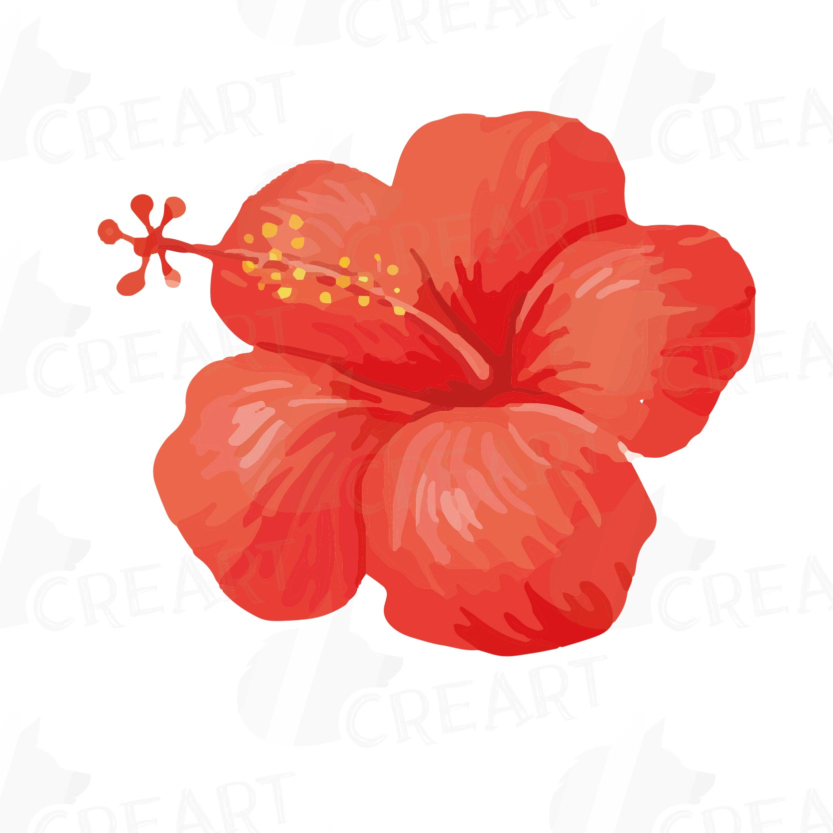 Exotic Flower Clipart At Getdrawings Free For Personal Use