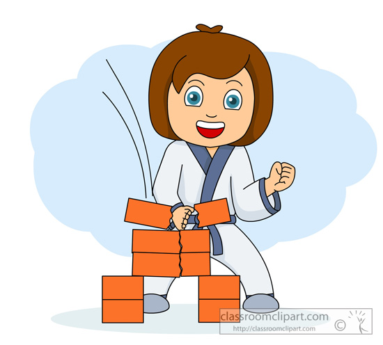 550x496 Karate Girl Clip Art Images Frompo