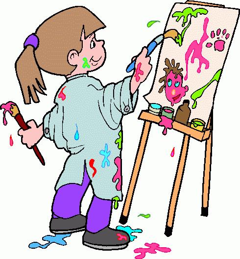 490x528 Student Painting Clipart, Explore Pictures
