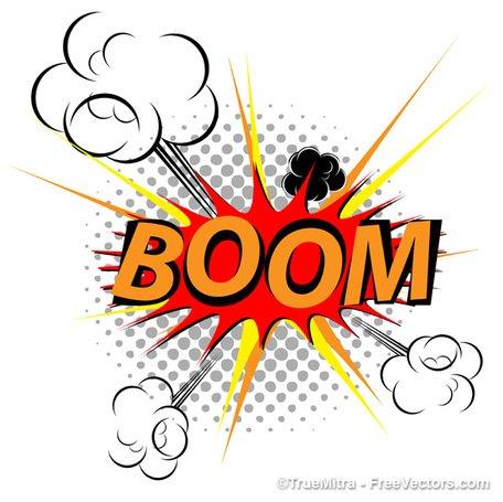 456x455 Explosion Clipart Line Art