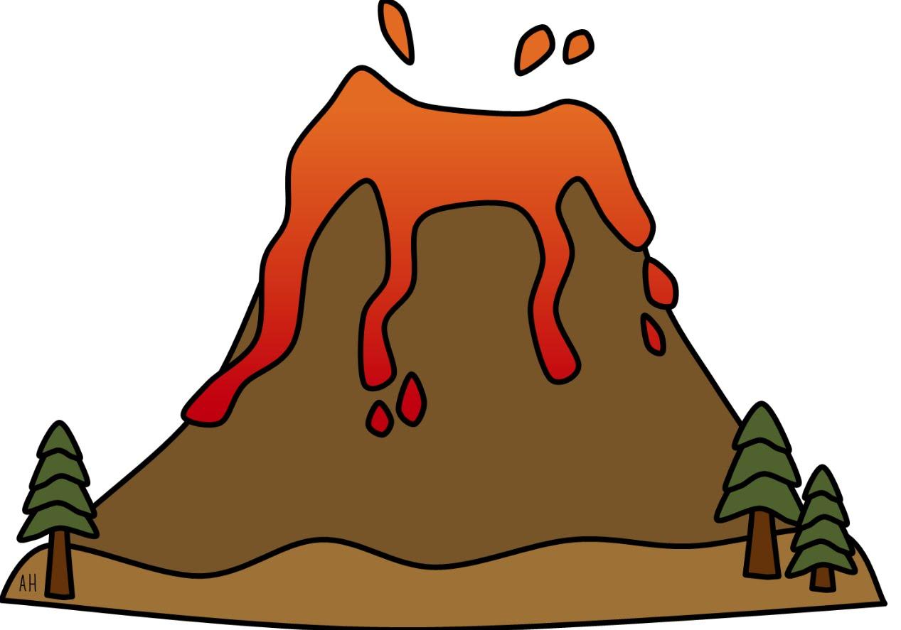 1267x887 Volcano Explosion Clipart, Explore Pictures