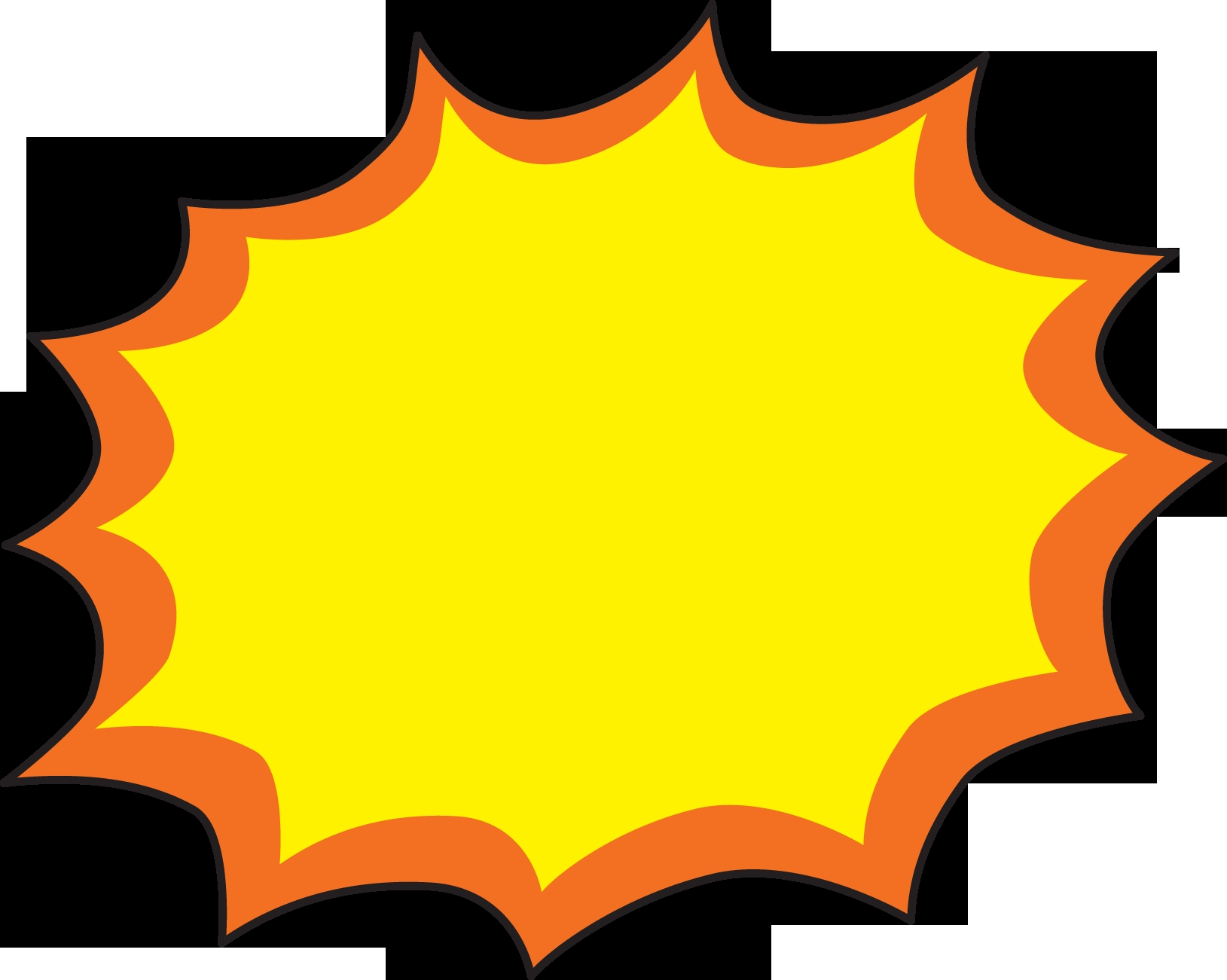 1629x1301 Best Of Explosion Clipart Collection