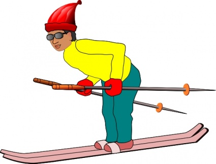 425x323 Ski Man Clip Art Clip Arts, Free Clip Art
