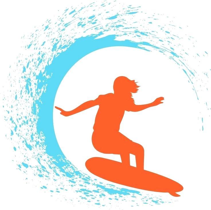 736x732 Clip Art Surfboard Clinicaltravel Work
