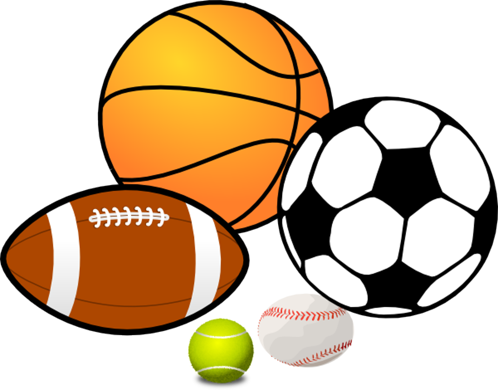 1024x802 Sport Clip Art Black And White Images