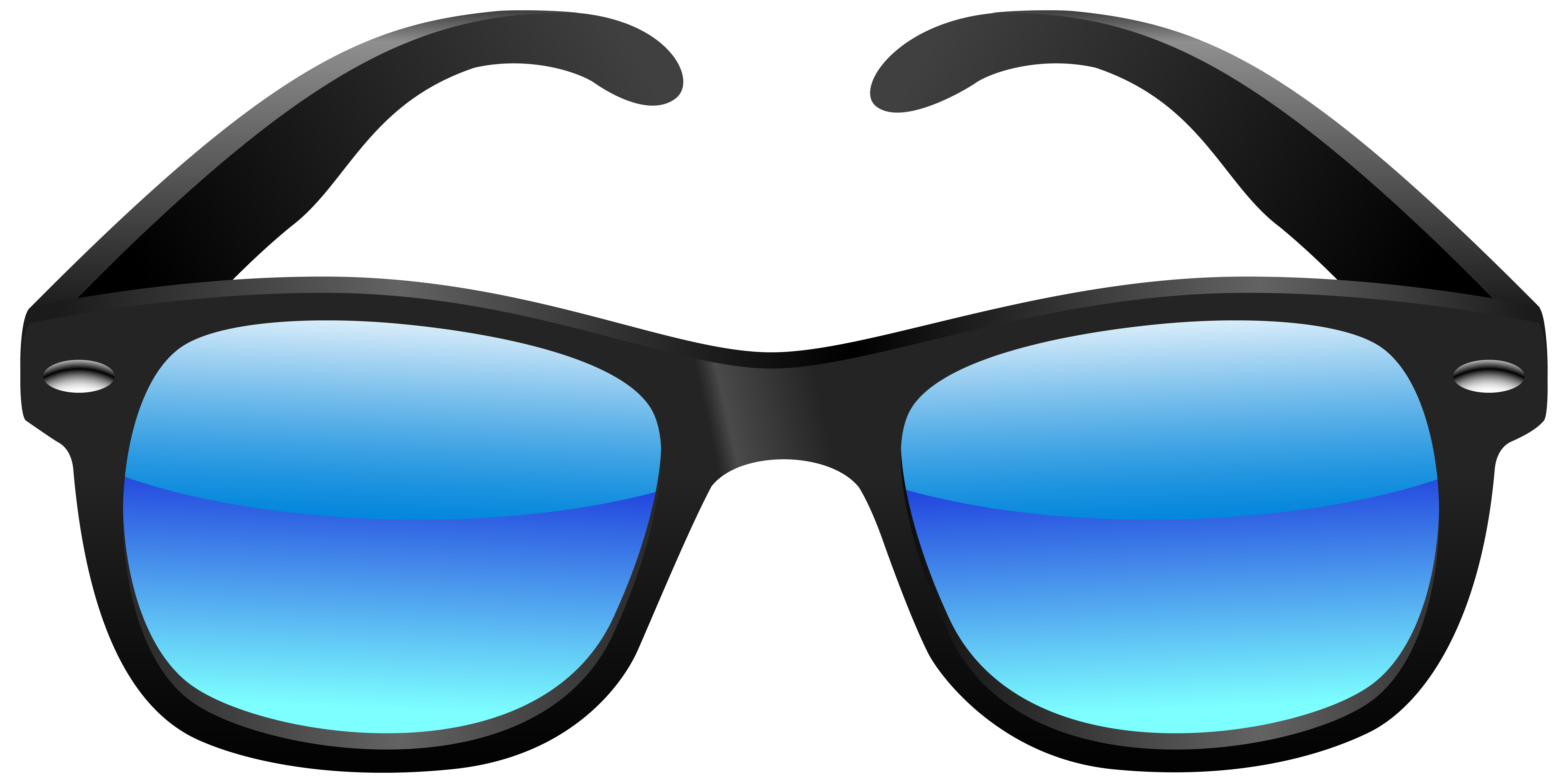 6099x3047 Clip Art Of Sunglasses Clipart Clipartwiz