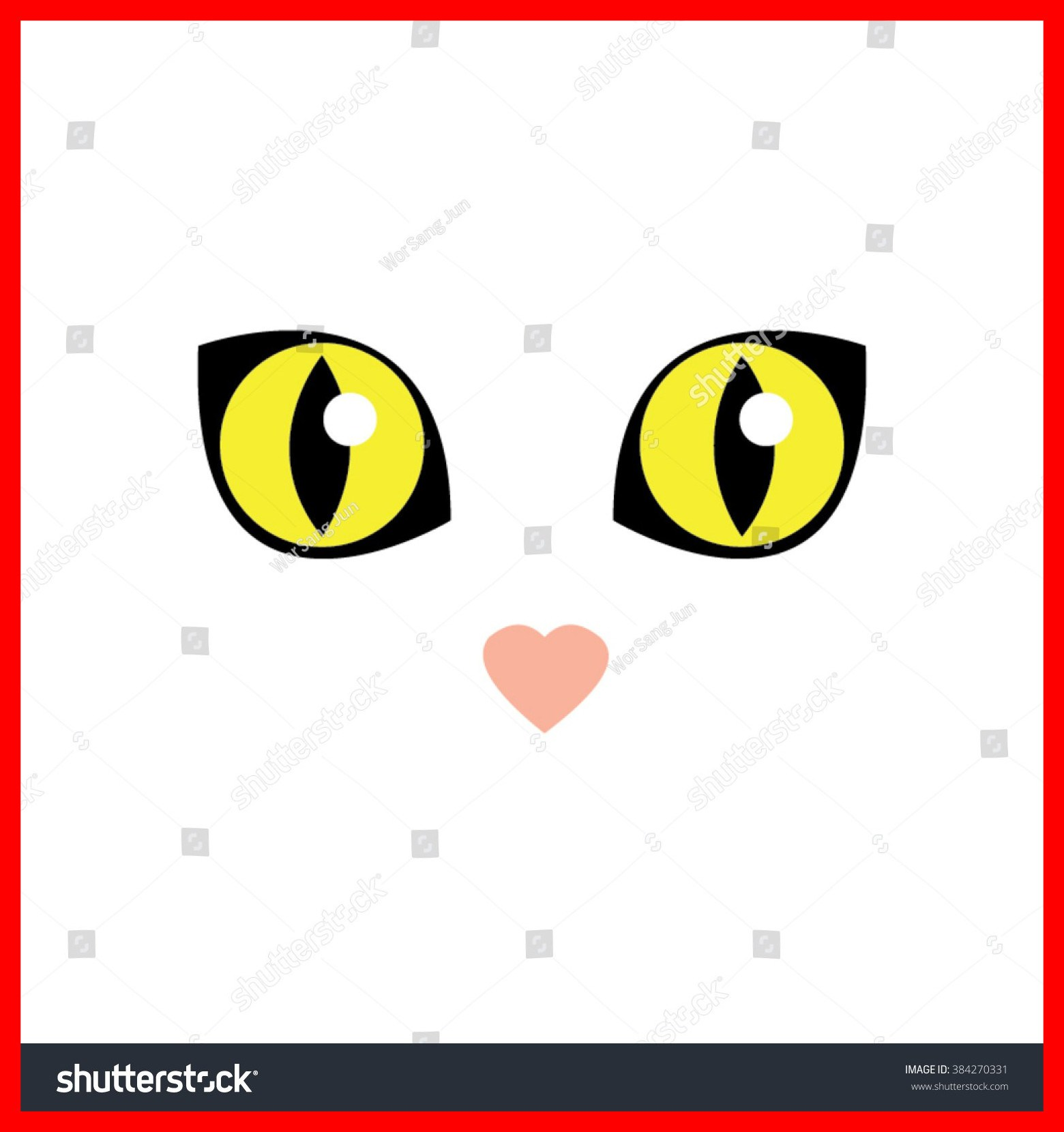 1560x1660 Cute Cat Eyes Clipart