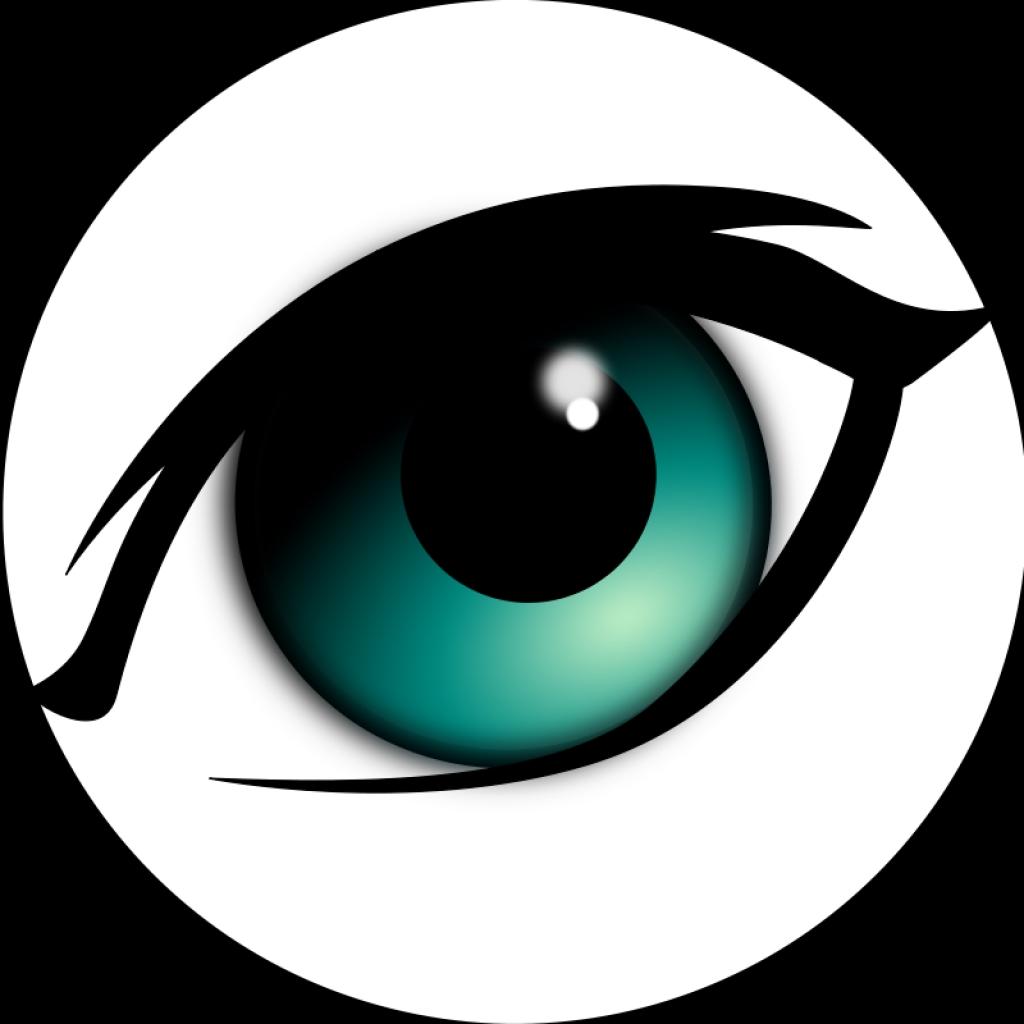 1024x1024 Eye Ball Clip Art Clipartsco40 Png Eye Clip Art Free Free Use