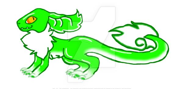 600x294 Candy Raptor Gummy Frog By Ladylancaeron