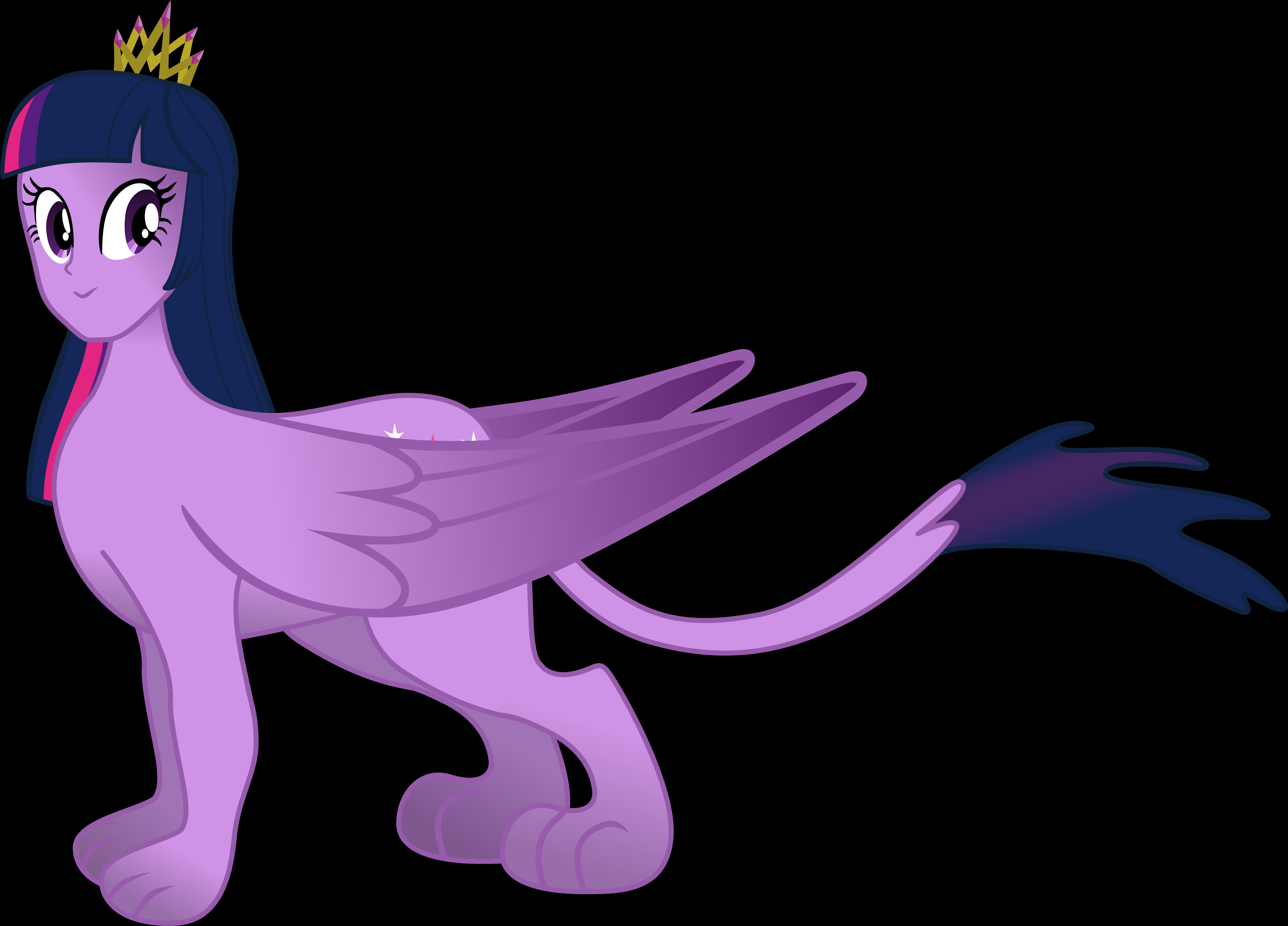 9352x6722 Twilight Sphinx. By Flutterflyraptor