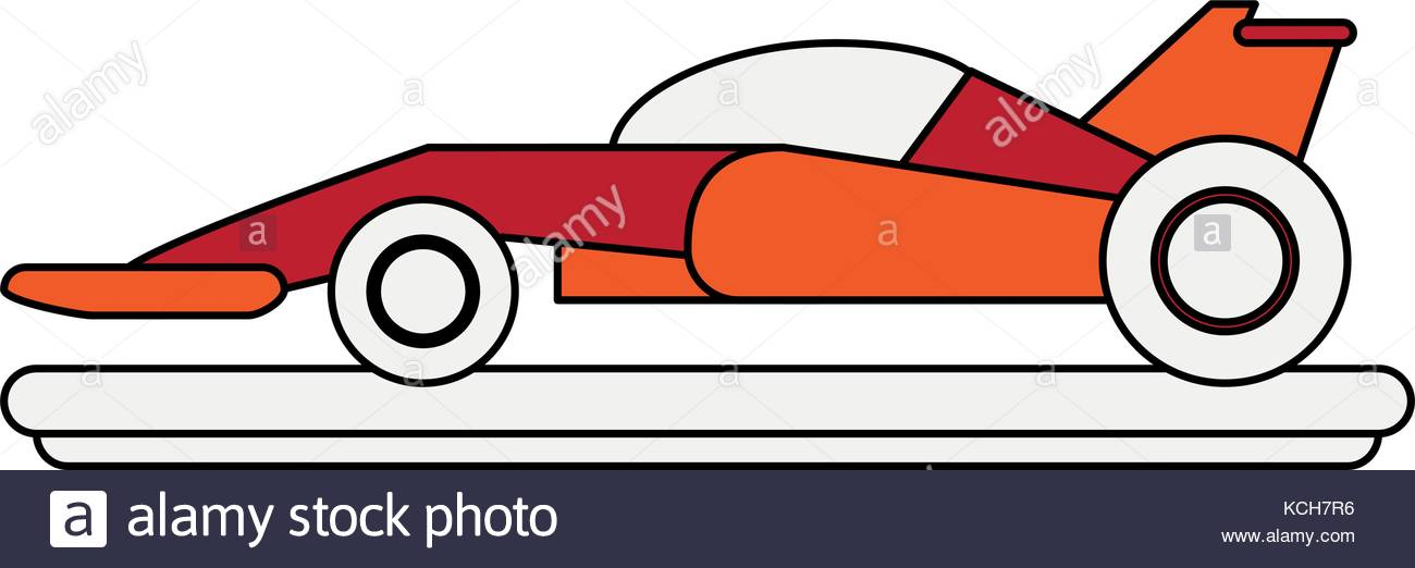 1300x522 F1 Race Car Stock Vector Images