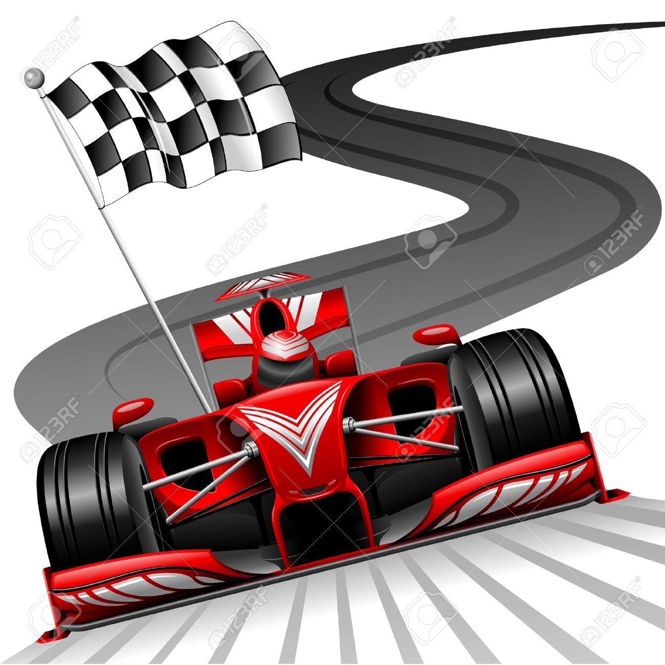 1300x1300 Formula One Car Clip Art Free Vector 4vector