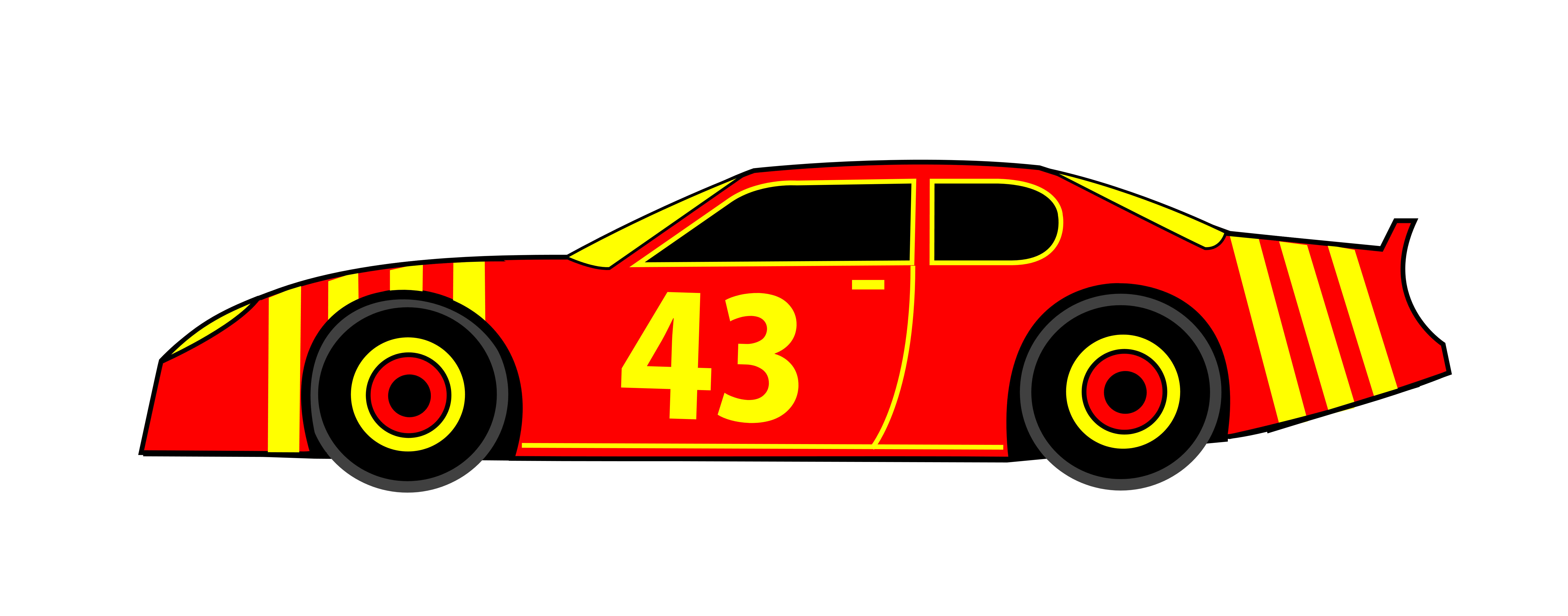 6500x2555 Race Car Clipart Craft Projects, Transportations Clipart