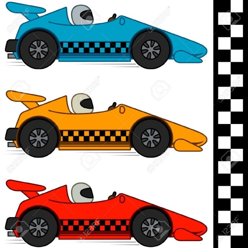 830x830 Best Race Car Clipart