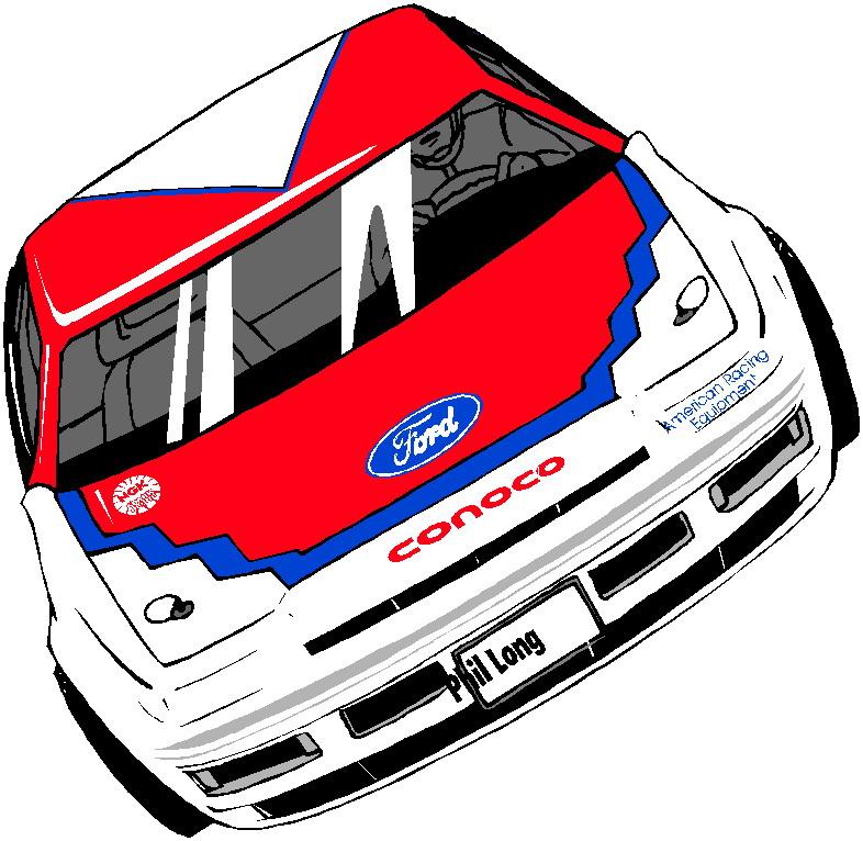 786x766 Vector Race Car