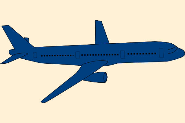 600x400 Animated Airplane Clipart Animated Airplane Clipart