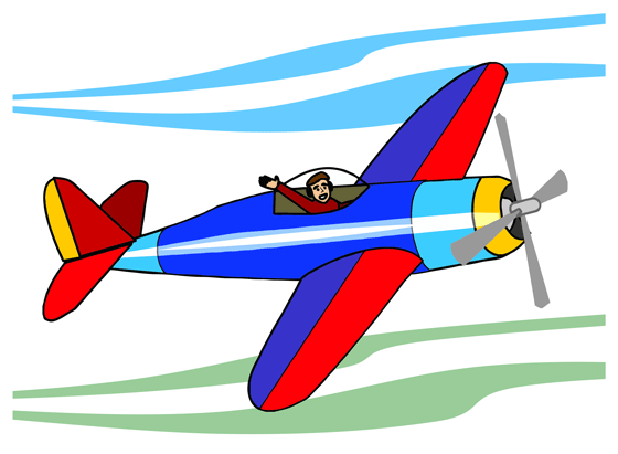 560x411 Aircraft Clipart Animated