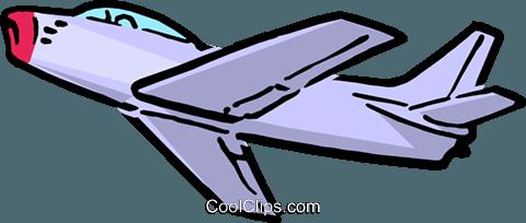 480x204 Cartoon Jet Royalty Free Vector Clip Art Illustration Tran0071