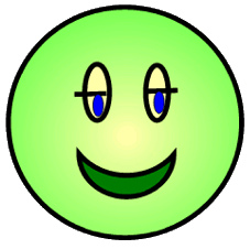 227x226 Green Happy Face Clipart Emotions Clipart Smiley Face Clip Art 8
