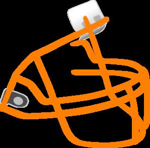 298x294 Football Face Mask Clip Art