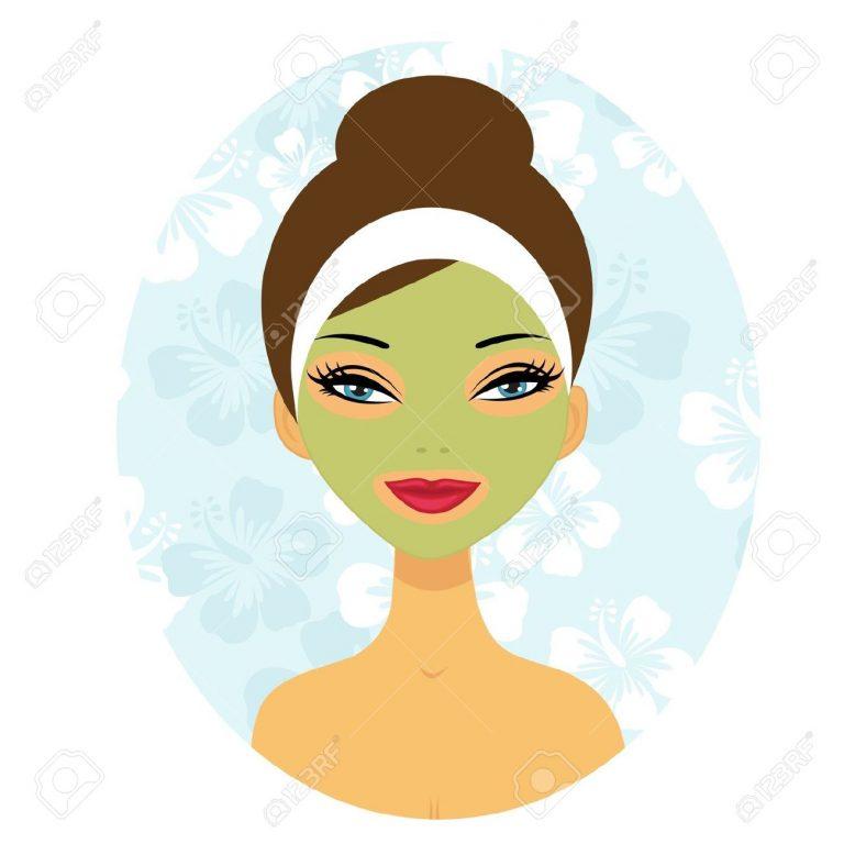 768x768 Facial Clip Art Face Mask Clipart 4
