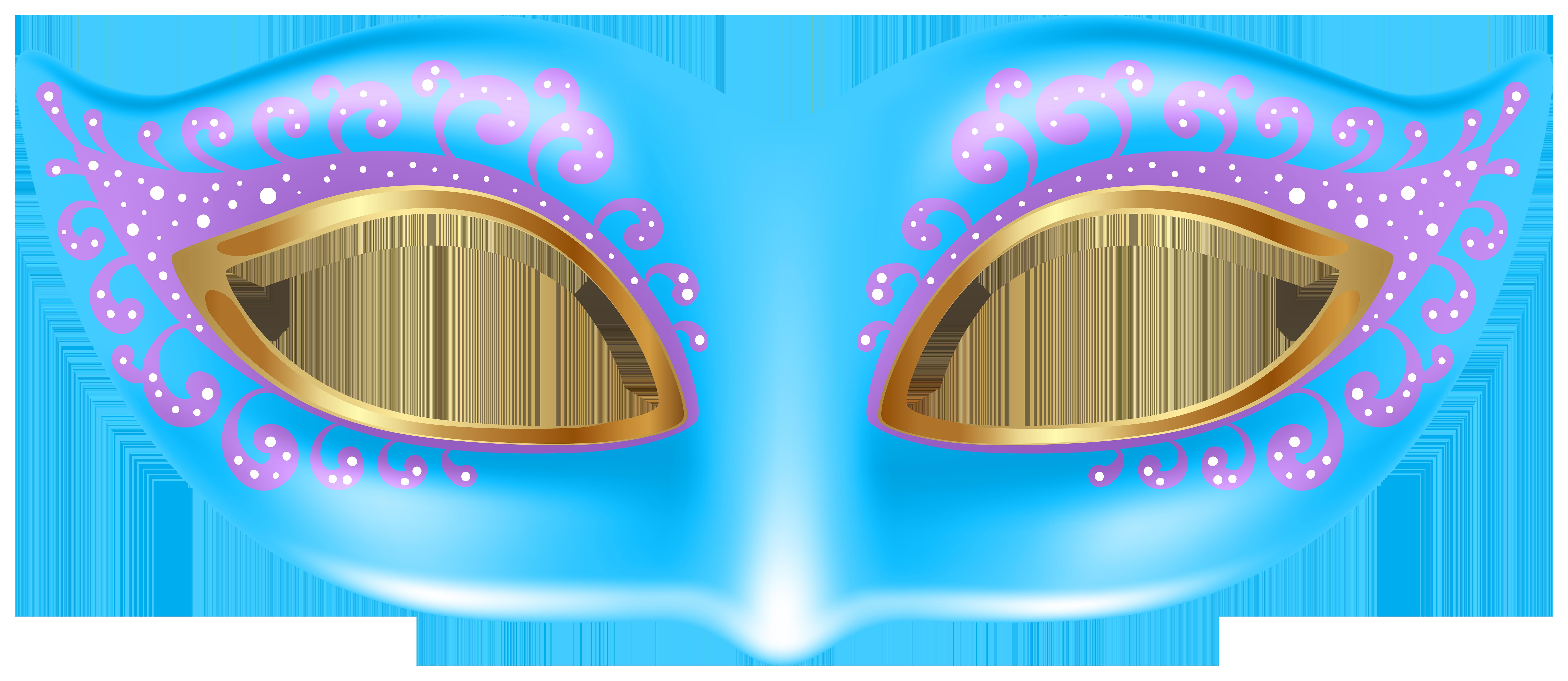 8000x3477 Blue Mask Transparent Png Clip Art Imageu200b Gallery Yopriceville