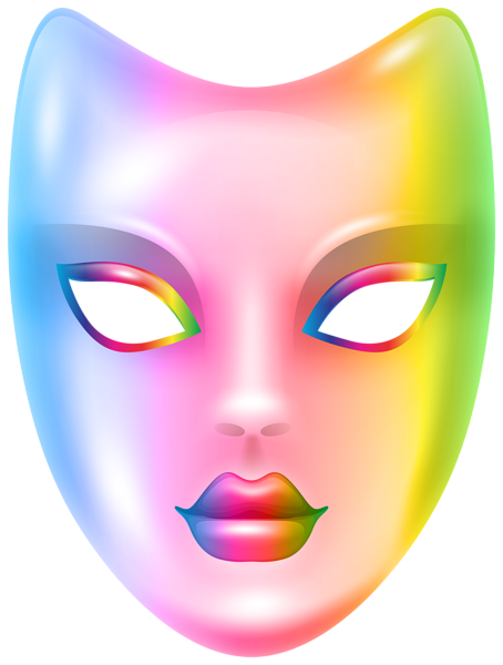 454x600 Carnival Face Mask Rainbow Png Clip Art Imageu200b Gallery