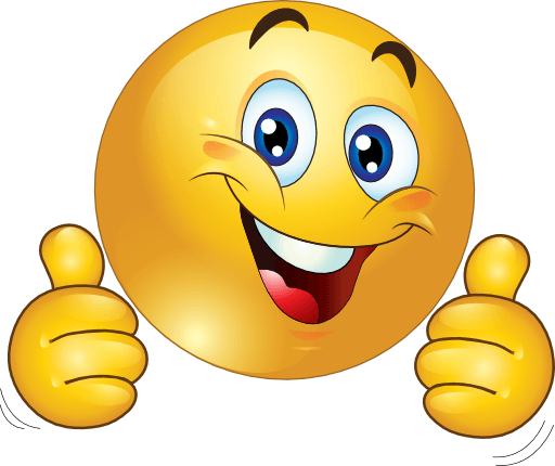 512x430 Smiley Face Clip Art Thumbs Up Free Clipart Images 2