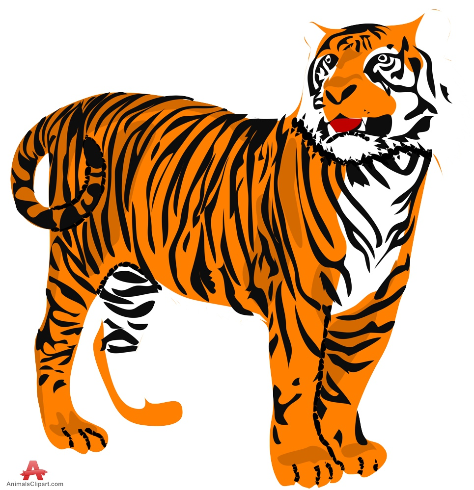 965x999 Tiger Clip Art Clipart Photo 3