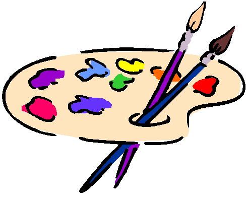 490x403 Clip Art Painting 875944