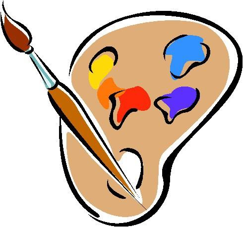 490x459 Face Painting Clip Art