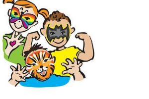300x200 Face Painting Clipart 9 Clipart Station