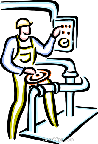 329x480 Factory Worker Royalty Free Vector Clip Art Illustration Vc033670