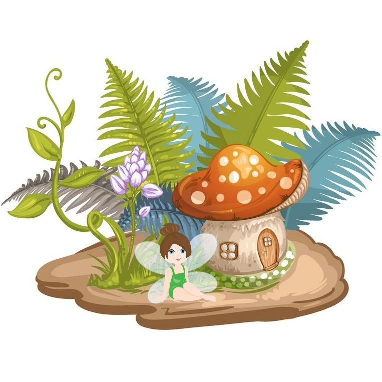 763x763 Fairy Garden Clipart Clipartxtras Garden Your Inspiration