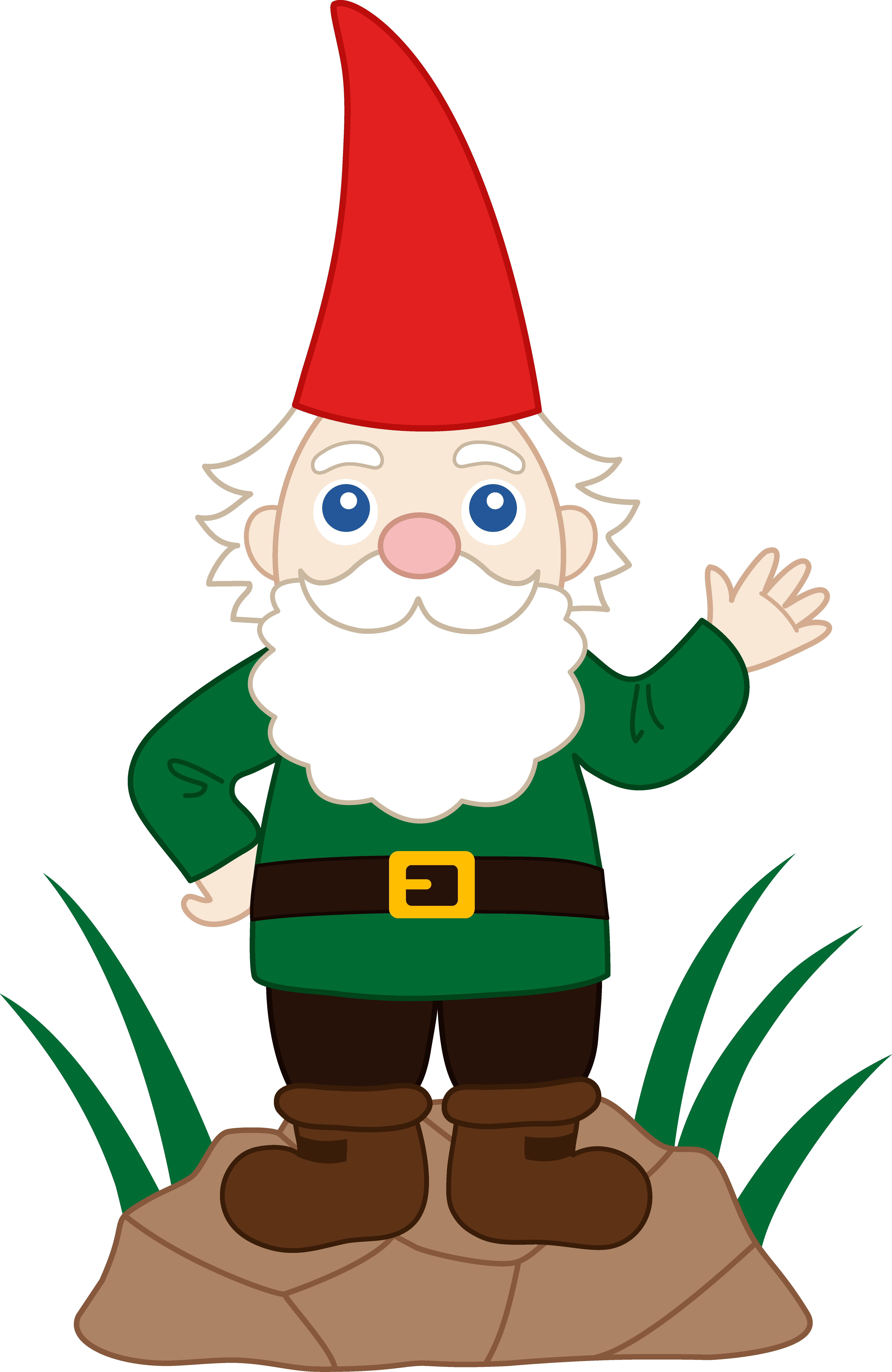 5377x8270 Friendly Garden Gnome