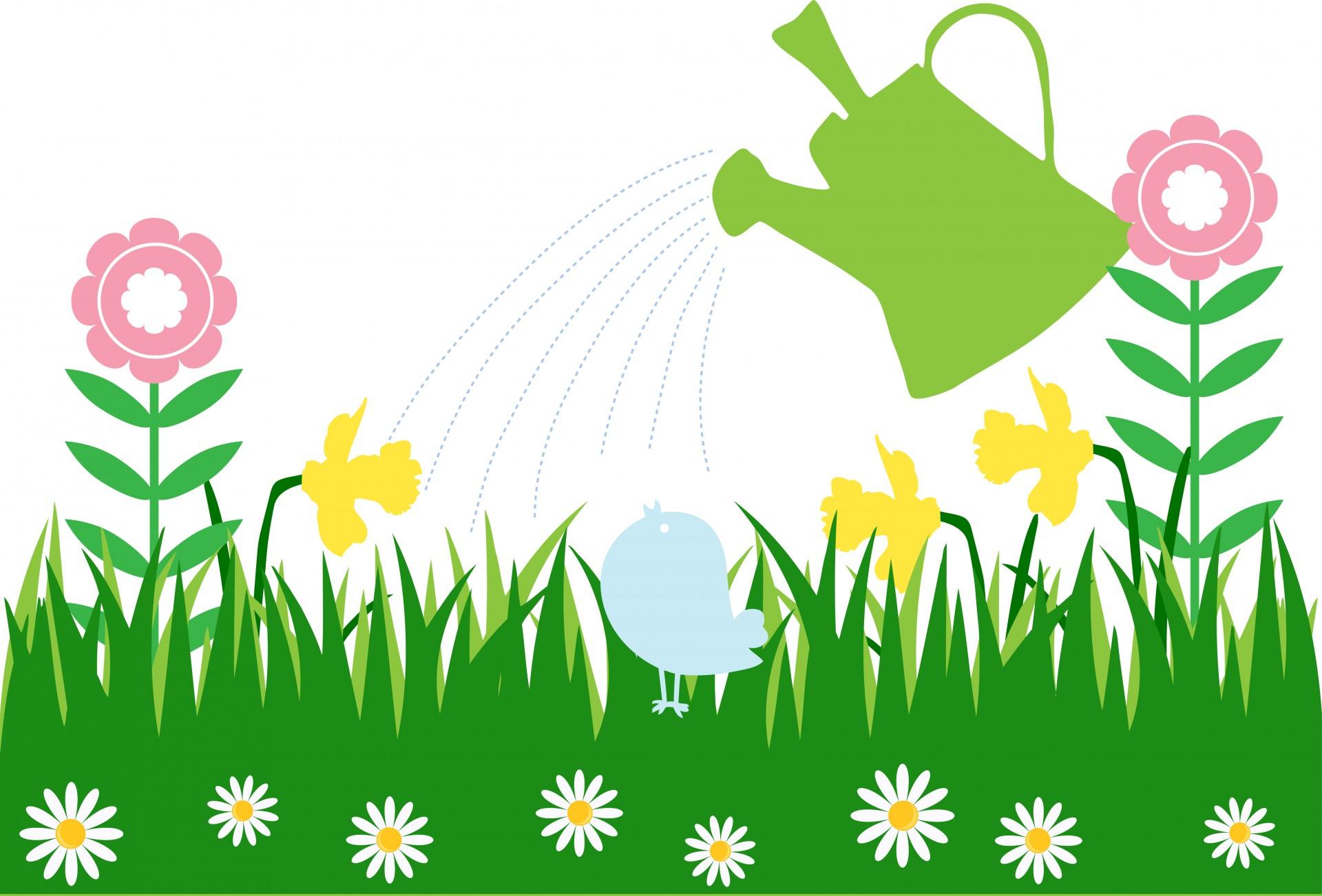 1920x1302 Spring Flower Garden Clip Art Mydrlynx